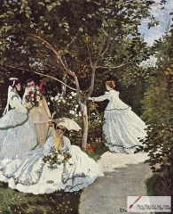 Women in the Garden, 1866–1867,