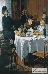 The Luncheon, 1868,
