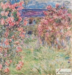 House Among the Roses, between 1917 and 1919,