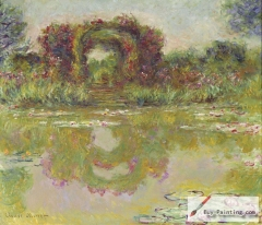 The rose arches, Giverny, 1913,