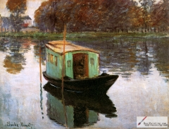 The Studio Boat, 1874,