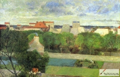 The Market Gardens of Vaugirard, 1879,