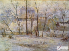Winter Landscape, 1879,