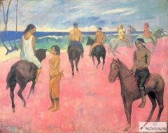 Cavaliers sur la Plage [II] (Riders on the Beach), 1902,