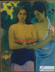 Two Tahitian Women (1899)