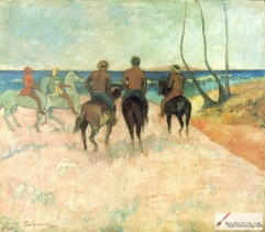 Riders on the Beach, 1902,