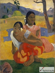Paul Gauguin, Nafea Faa Ipoipo (When Will You Marry?), 1892,
