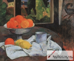 Still-Life with Fruit and Lemons (c. 1880)