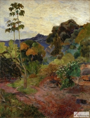 Martinique Landscape 1887,