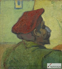 Vincent van Gogh, Paul Gauguin (Man in a Red Beret), 1888,