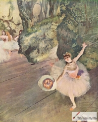 Dancer with a Bouquet of Flowers (Star of the Ballet) (with also ballerina Rosita Mauri), 1878