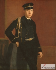 Achille De Gas in the Uniform of a Cadet, 1856/57,