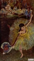 Fin d'Arabesque, with ballerina Rosita Mauri, 1877,