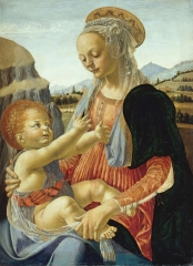 Small devotional picture by Verrocchio, c. 1470