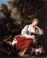 Dreaming Shepherdess