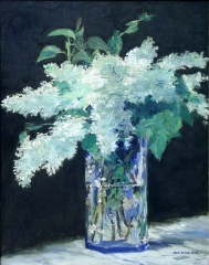 Still Life, Lilac Bouquet, 1883