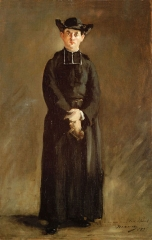 Portrait of Abbé Hurel, 1874