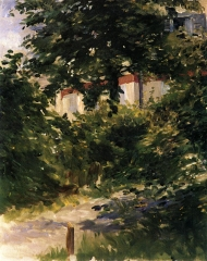 Garden Path in Rueil, 1882