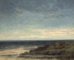 Sea Coast in Normandy, 1867