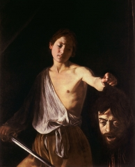 David with the Head of Goliath, 1609–1610