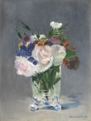 Flowers in a Crystal Vase, 1882