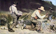 The Stone Breakers, 1849