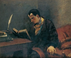 Portrait of Baudelaire, 1848