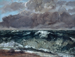 The Wave (La Vague), 1869