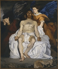 The Dead Christ with Angels, 1864