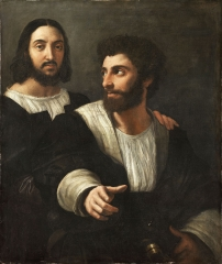 Possible Self-portrait with a friend, c. 1518