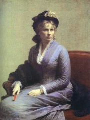 Portrait of Charlotte Dubourg, 1882