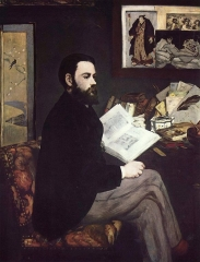 Portrait of Émile Zola, 1868