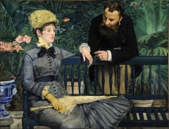 In the Conservatory, 1879