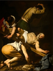 The Crucifixion of Saint Peter, 1601