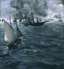The Battle of the Kearsarge and the Alabama, 1864