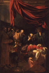 Death of the Virgin. 1601–1606.