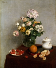Henri Fantin-Latour - Flowers and Fruit