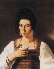 Portrait of a Courtesan Fillide Melandroni