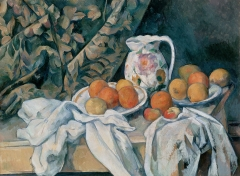 Still Life with a Curtain (1895)