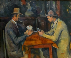 Les joueurs de cartes (The Card Players), 1892–95