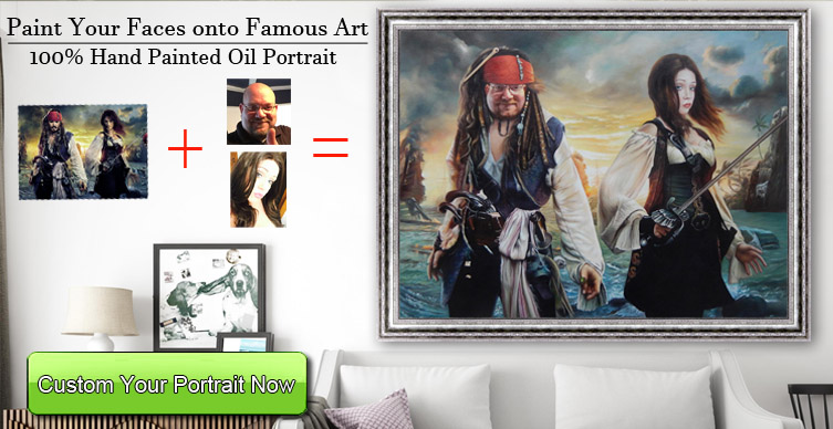 Famous oil painting reproductions from art studio,
