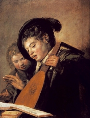 Two Boys Singing, c. 1625