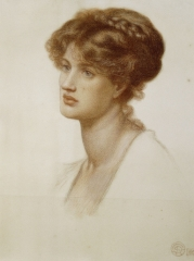 Portrait of Marie Spartali Stillman (1869)