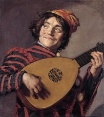 Jester with a Lute, 1620–1625