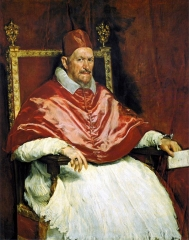 Portrait of Pope Innocent X, 1650