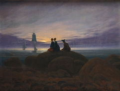Moonrise Over the Sea (1822)
