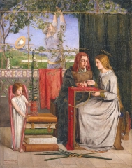 The Girlhood of Mary Virgin (1849)