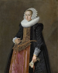 Portrait of Aletta Hanemans (1606-1653)