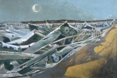 Paul Nash, Totes Meer (Sea of the Dead), 1940–41