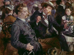 At the Beer Garden, 1883